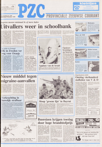 Provinciale Zeeuwse Courant 1990-10-18