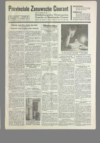 Provinciale Zeeuwse Courant 1940-10-10