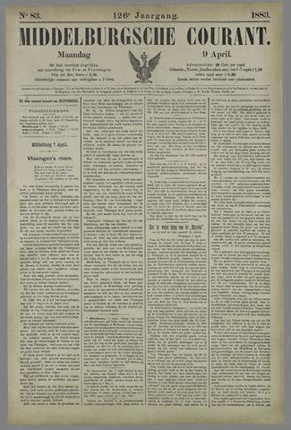 Middelburgsche Courant 1883-04-09