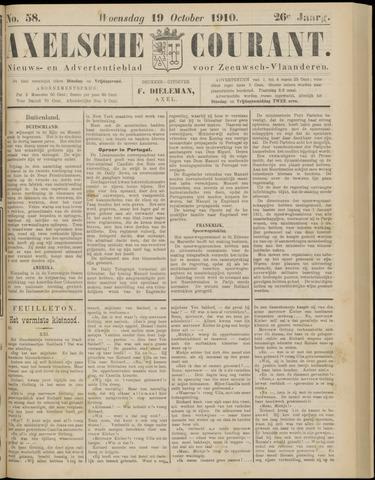 Axelsche Courant 1910-10-19