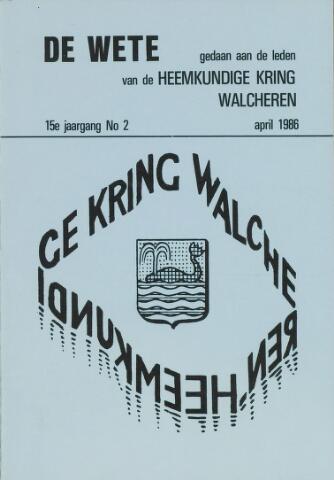 de Wete 1986-04-01