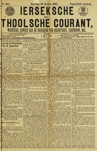 Ierseksche en Thoolsche Courant 1901-10-26