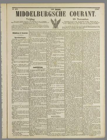 Middelburgsche Courant 1906-11-23