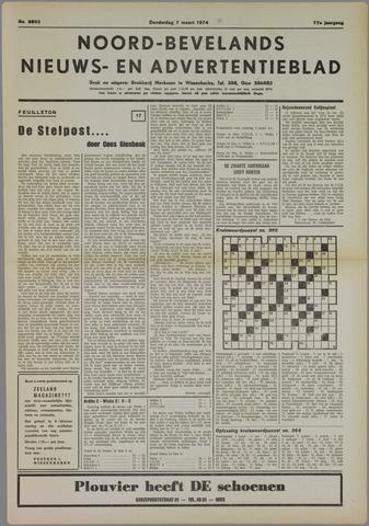 Noord-Bevelands Nieuws- en advertentieblad 1974-03-07