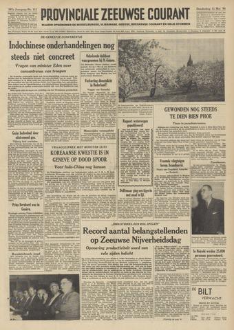 Provinciale Zeeuwse Courant 1954-05-13