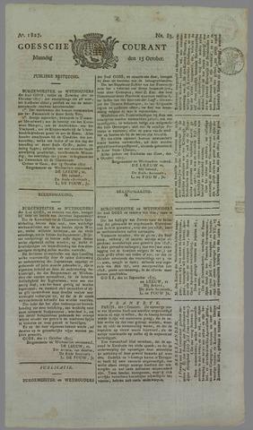 Goessche Courant 1827-10-15