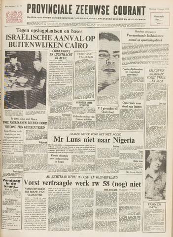 Provinciale Zeeuwse Courant 1970-01-19