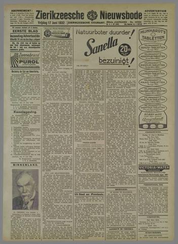 Zierikzeesche Nieuwsbode 1932-06-17