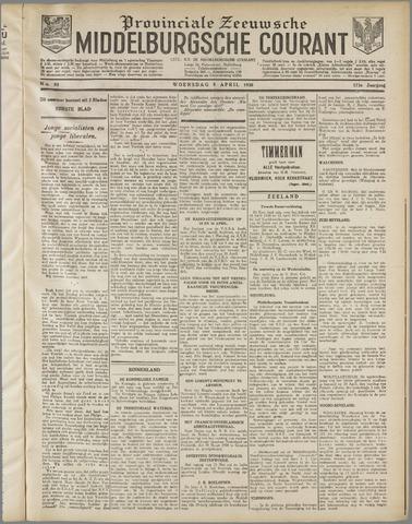 Middelburgsche Courant 1930-04-09