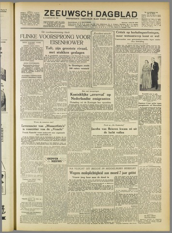 Zeeuwsch Dagblad 1952-04-24