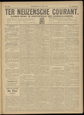Ter Neuzensche Courant. Algemeen Nieuws- en Advertentieblad voor Zeeuwsch-Vlaanderen / Neuzensche Courant ... (idem) / (Algemeen) nieuws en advertentieblad voor Zeeuwsch-Vlaanderen 1933-06-21