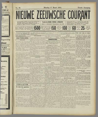 Nieuwe Zeeuwsche Courant 1914-03-17