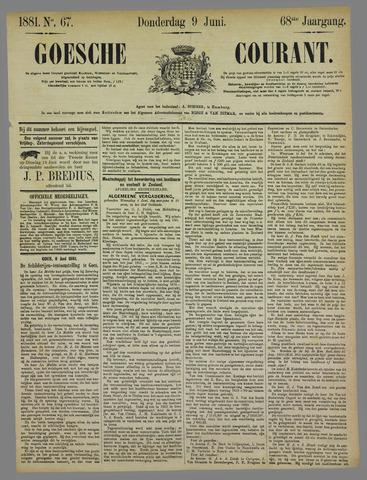 Goessche Courant 1881-06-09