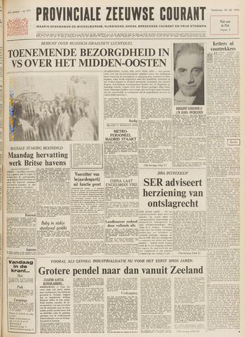 Provinciale Zeeuwse Courant 1970-07-30