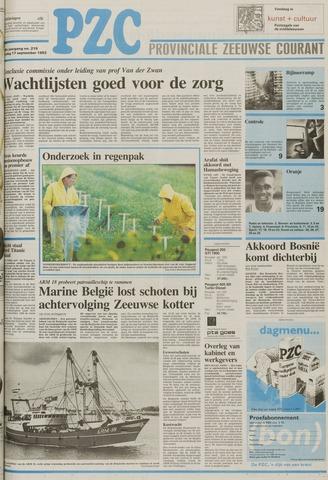 Provinciale Zeeuwse Courant 1993-09-17