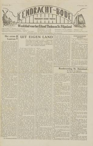 Eendrachtbode (1945-heden)/Mededeelingenblad voor het eiland Tholen (1944/45) 1949-11-18