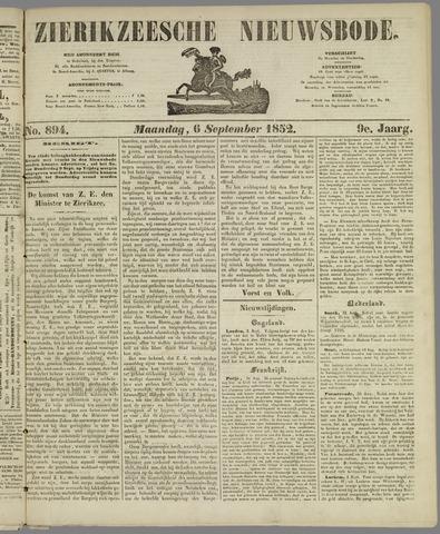Zierikzeesche Nieuwsbode 1852-09-06