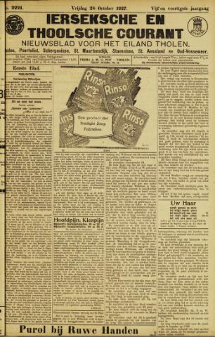 Ierseksche en Thoolsche Courant 1927-10-28