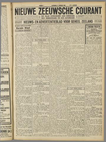 Nieuwe Zeeuwsche Courant 1931-01-17