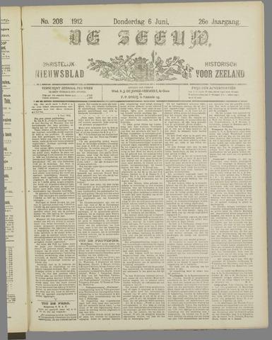 De Zeeuw. Christelijk-historisch nieuwsblad voor Zeeland 1912-06-06
