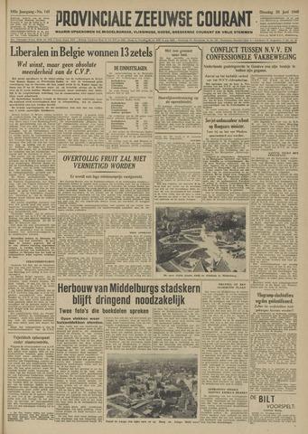 Provinciale Zeeuwse Courant 1949-06-28