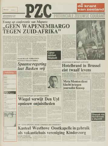 Provinciale Zeeuwse Courant 1977-05-23