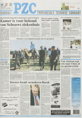 Provinciale Zeeuwse Courant 2001-02-07