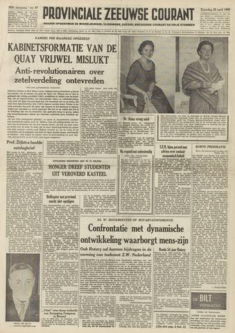 Provinciale Zeeuwse Courant 1959-04-25