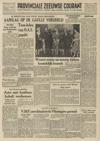 Provinciale Zeeuwse Courant 1962-05-22