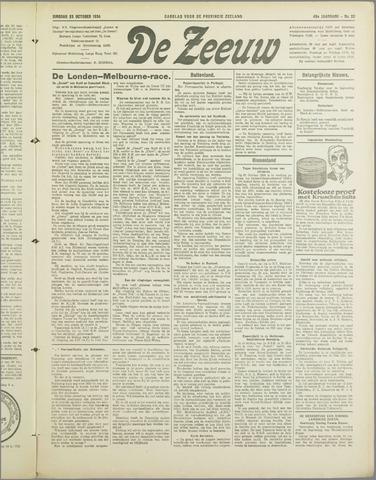 De Zeeuw. Christelijk-historisch nieuwsblad voor Zeeland 1934-10-23