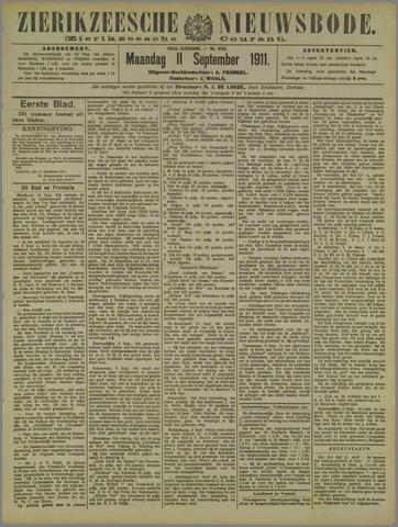 Zierikzeesche Nieuwsbode 1911-09-11