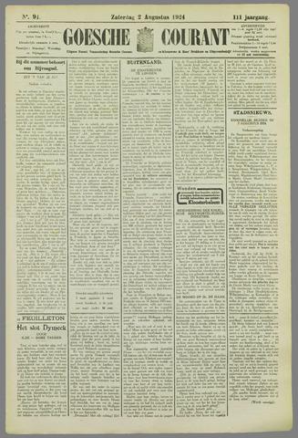 Goessche Courant 1924-08-02