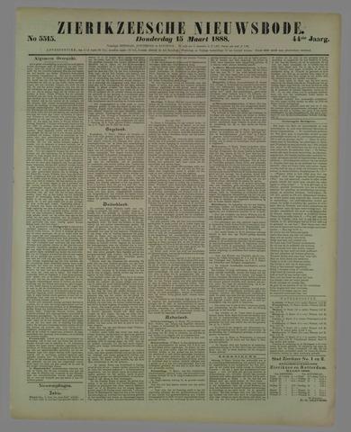 Zierikzeesche Nieuwsbode 1888-03-15