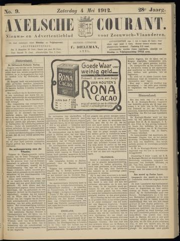 Axelsche Courant 1912-05-04