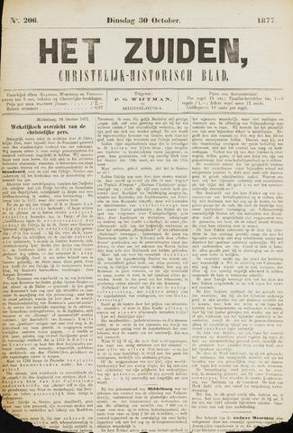 Het Zuiden, Christelijk-historisch blad 1877-10-30