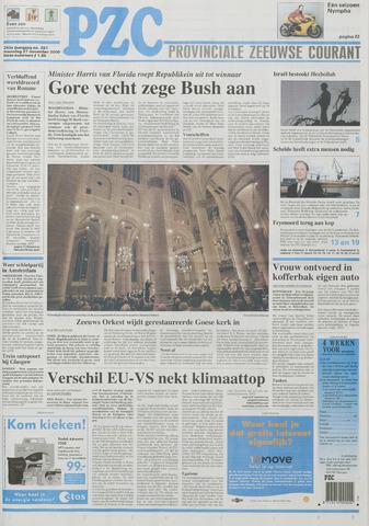 Provinciale Zeeuwse Courant 2000-11-27