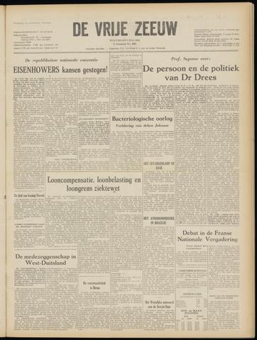 de Vrije Zeeuw 1952-07-09
