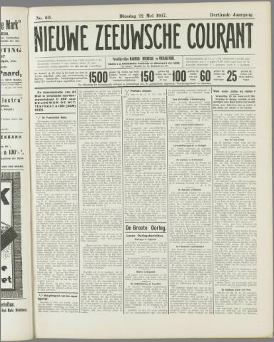 Nieuwe Zeeuwsche Courant 1917-05-22