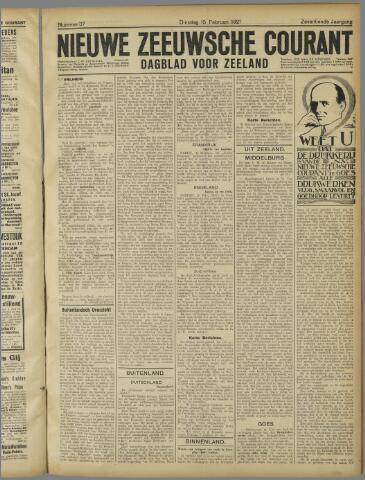 Nieuwe Zeeuwsche Courant 1921-02-15