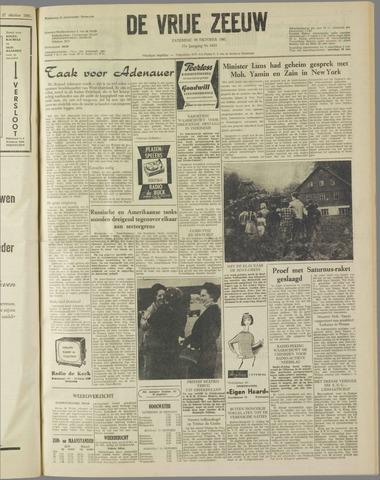 de Vrije Zeeuw 1961-10-28