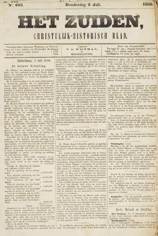 Het Zuiden, Christelijk-historisch blad 1880-07-08