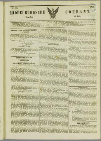 Middelburgsche Courant 1847-07-27