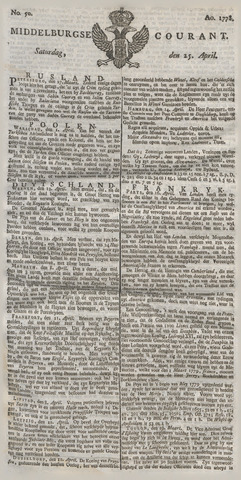 Middelburgsche Courant 1778-04-25