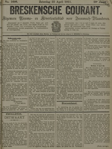 Breskensche Courant 1911-04-22