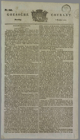 Goessche Courant 1833-10-07