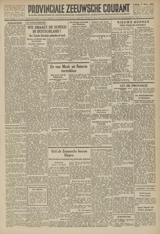 Provinciale Zeeuwse Courant 1945-12-07