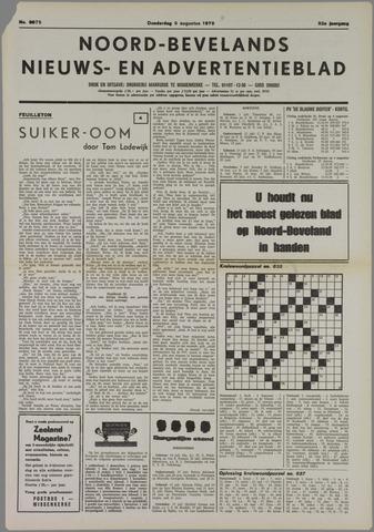 Noord-Bevelands Nieuws- en advertentieblad 1979-08-09