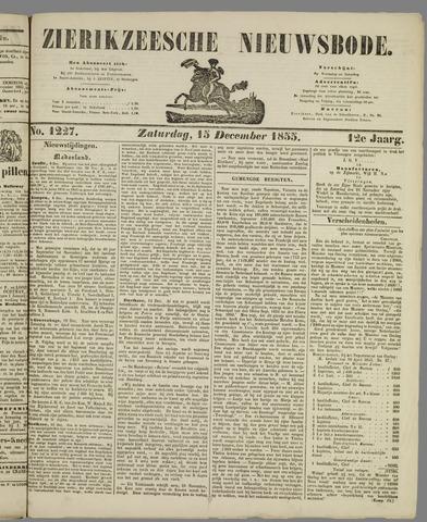 Zierikzeesche Nieuwsbode 1855-12-15