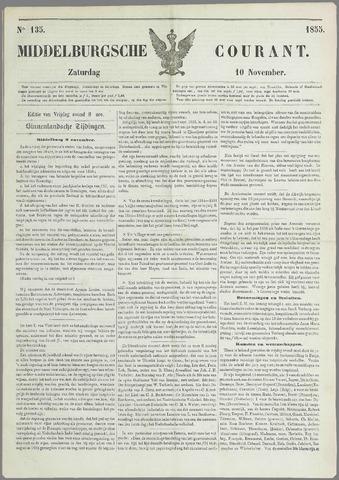 Middelburgsche Courant 1855-11-10