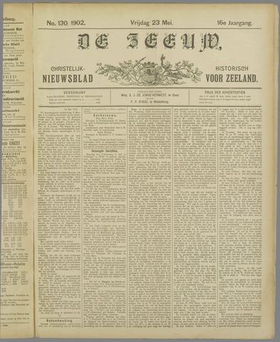 De Zeeuw. Christelijk-historisch nieuwsblad voor Zeeland 1902-05-23